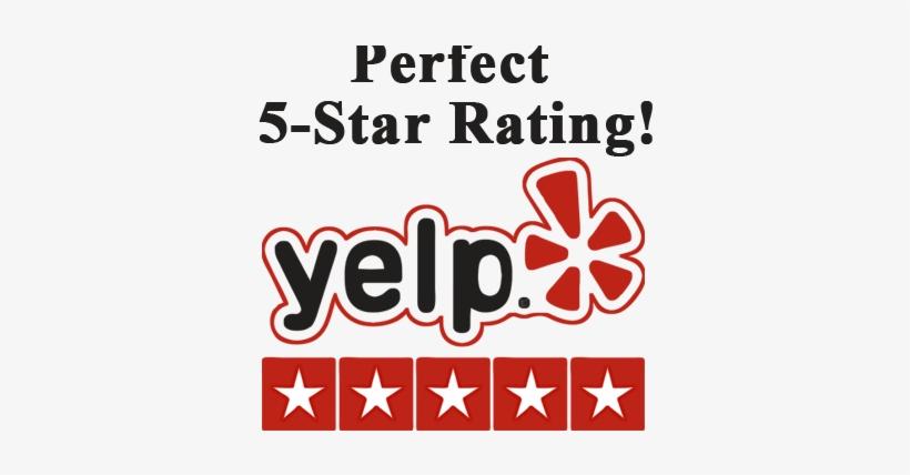 Yelp 5 Star Rating - Yelp Reviews, transparent png #2990547