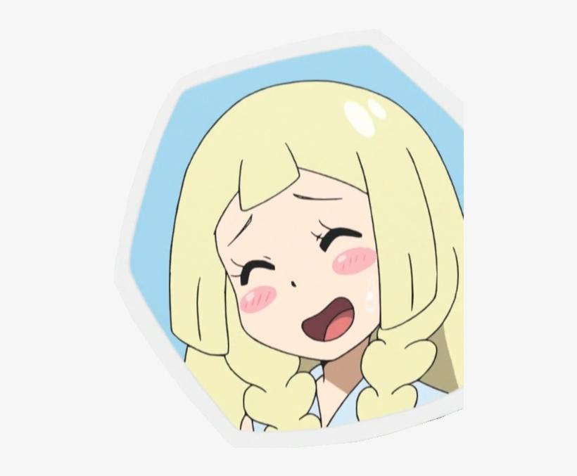 Pokémon Sun And Moon Pokémon X And Y Pokkén Tournament - Pokemon Lillie Anime Emotions, transparent png #2990879