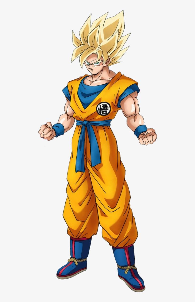 Super saiyan goku db movie 2018 render by https dragon ball super movie character designs - Goku super sayen ...