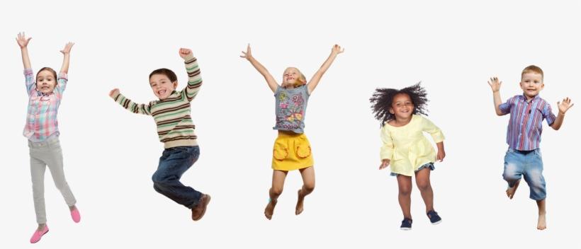 Kids Jumping, transparent png #2994076