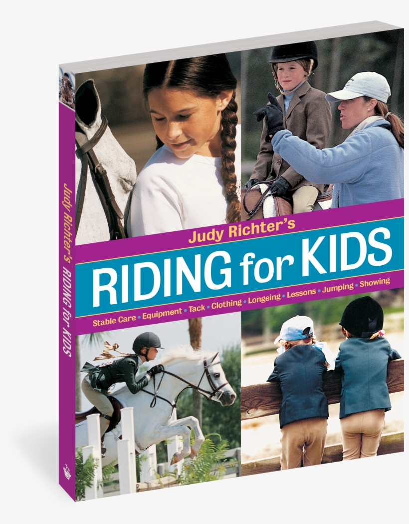 Cover - Judy Richter's Riding For Kids, transparent png #2994370