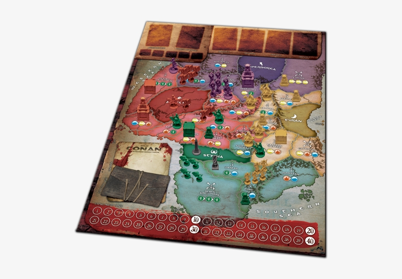 Age Of Conan Strategy Board Game - Grail Games Medici: The Card Game, transparent png #2994592