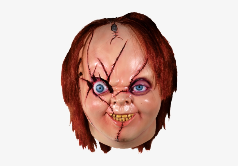 Trick Or Treat Bride Of Chucky Horror Movie Halloween - Chucky Mask, transparent png #2995866