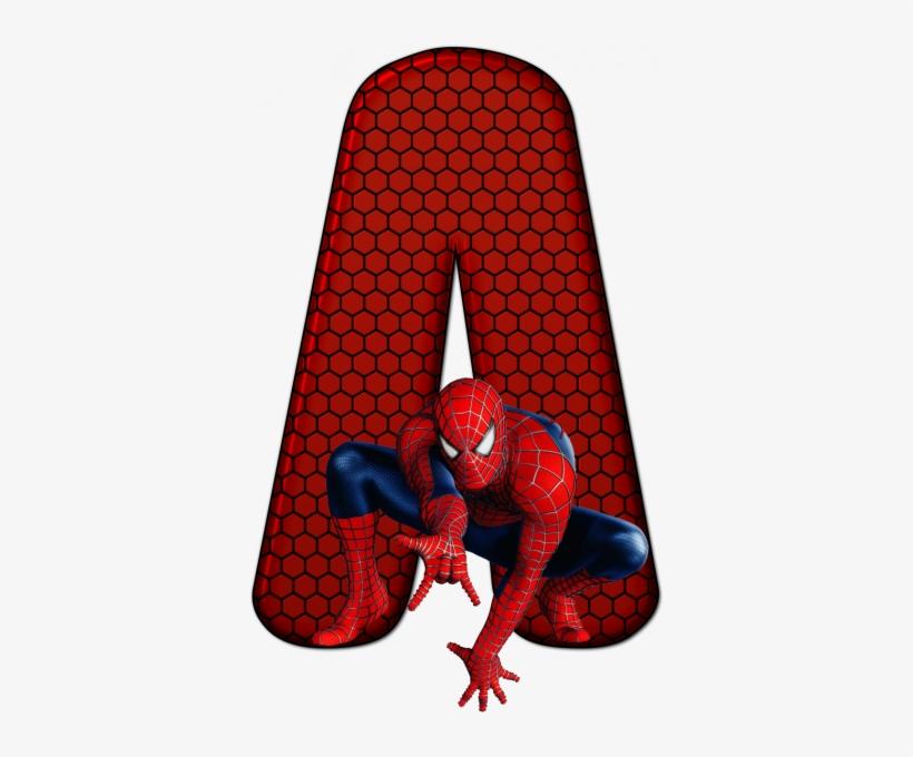 Alfabeto Homem Aranha 4 Png Spiderman Free Transparent Png