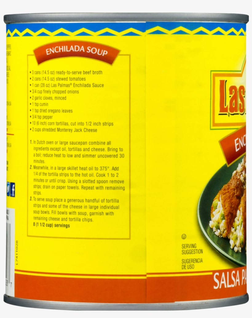 Las Palmas Red Enchilada Sauce, Medium - 19 Oz Can, transparent png #2996550