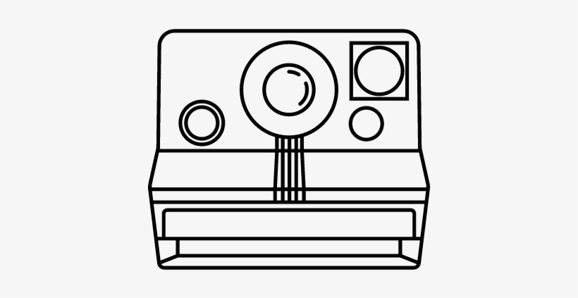 Polaroid Sx 70 Vector - Polaroid Sx-70, transparent png #2997108
