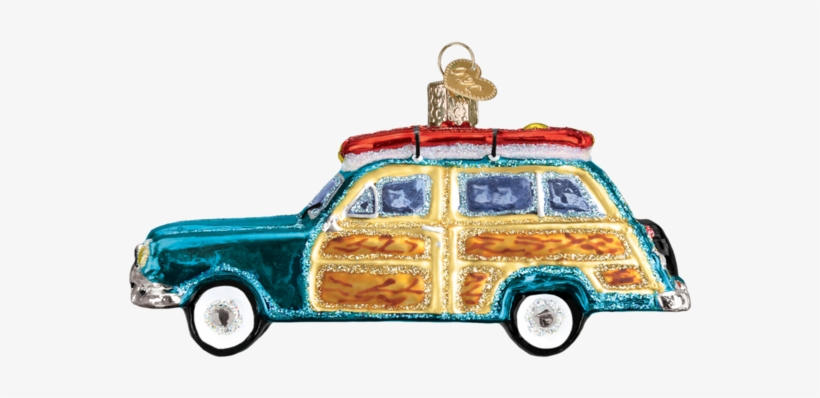 Vintage Beach Wagon Ornament - Tape Measure Old World Christmas Ornament 32295, transparent png #2998819