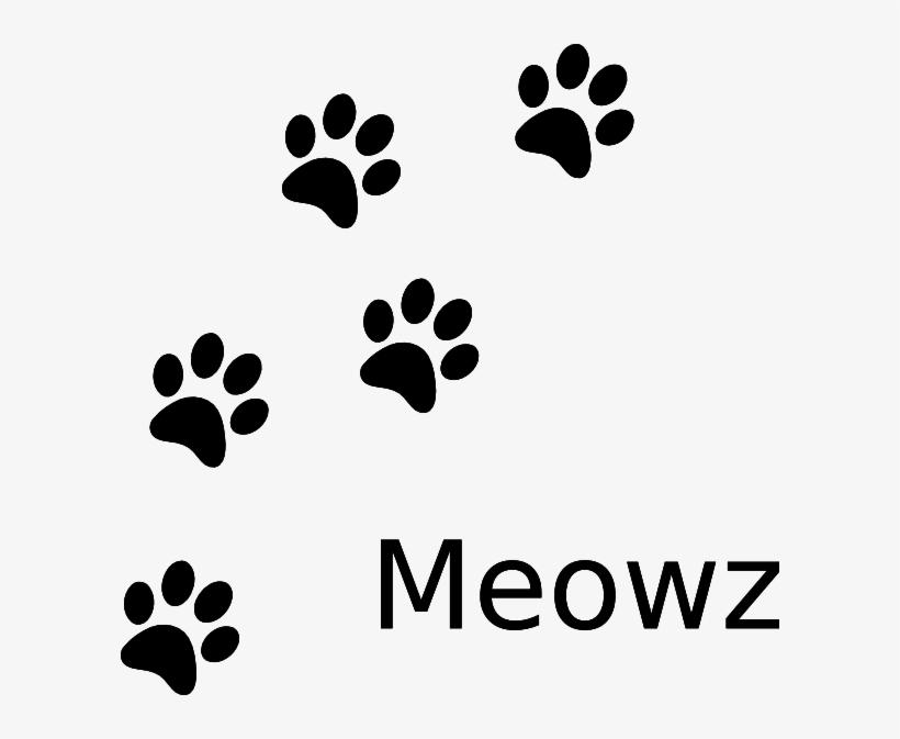 Cat Paw Print Prints Clip Art Vector - Cat Paw Prints, transparent png #30111