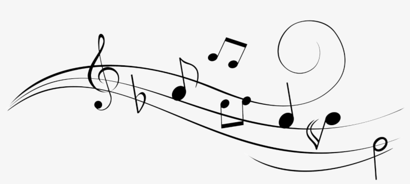 Music Notes Png Hd - Music Notes Drawings Easy, transparent png #30229
