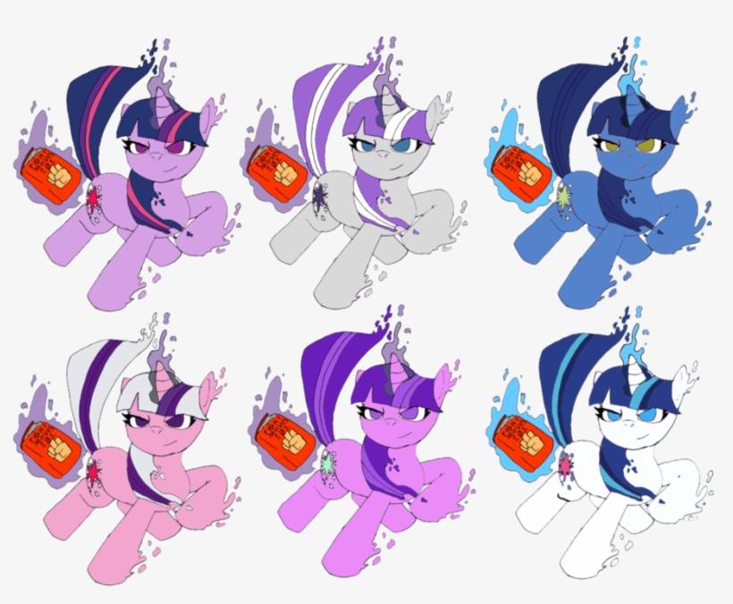 Sfxmlp Twilight Sparkle Colors By Crossovergamer On - Mlp Twilight Sparkle Colours, transparent png #30699