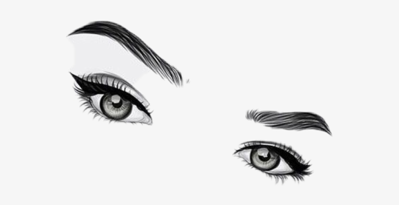 Sticker By Evie Lopez - Png Eyebrows, transparent png #30743