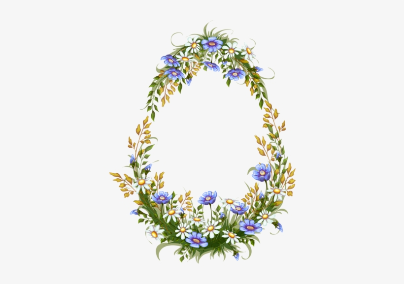 Spring Images, Wreath Watercolor, Ramen, Easter Wreaths, - Carteles Vintage Png, transparent png #30821