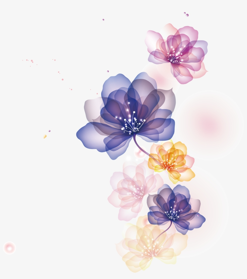 Flowers Illustration Png - Flower Illustrations Png, transparent png #30913