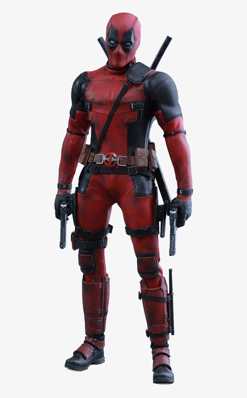 Hot Toys - 1 - 6 Deadpool - Marvel Deadpool 1/6 Collectible Figure, transparent png #31229