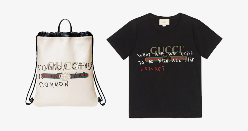 6148e9aad07 Gucci X Coco Capitán Logo Backpack And T-shirt - Gucci Want To Go Back