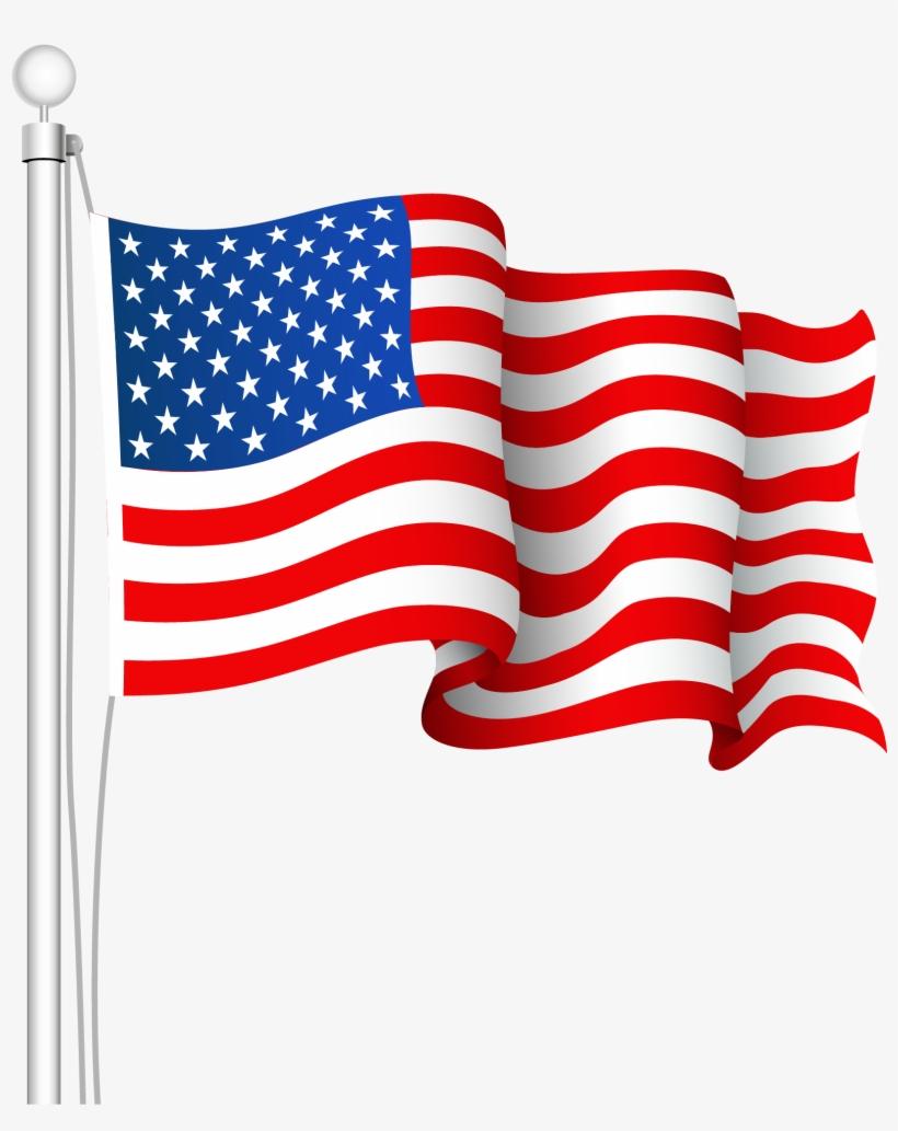 Usa flag american. Collection of us