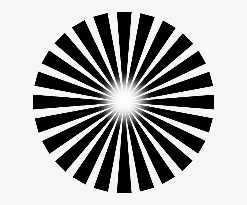 Sun Ray Png Black And White Transparent Sun Ray Black Sun Ray