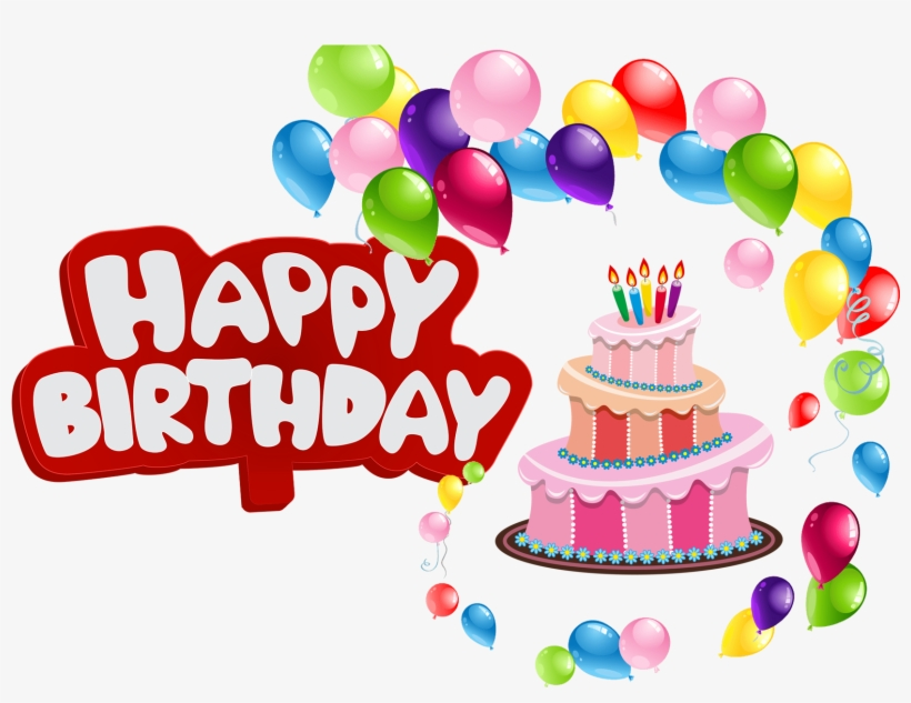 Happy Birthday Balloons Png Clipart Free Library