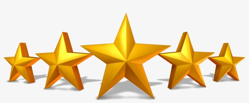 Five Stars, transparent png #31686