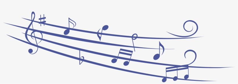 Music Notes Png - Blue Music Notes Png, transparent png #32172