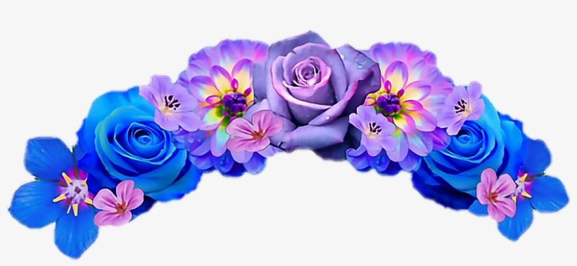 Snapchat Flower Crown Transparent Background - Flower Crown Snapchat Filter Pngs, transparent png #32911
