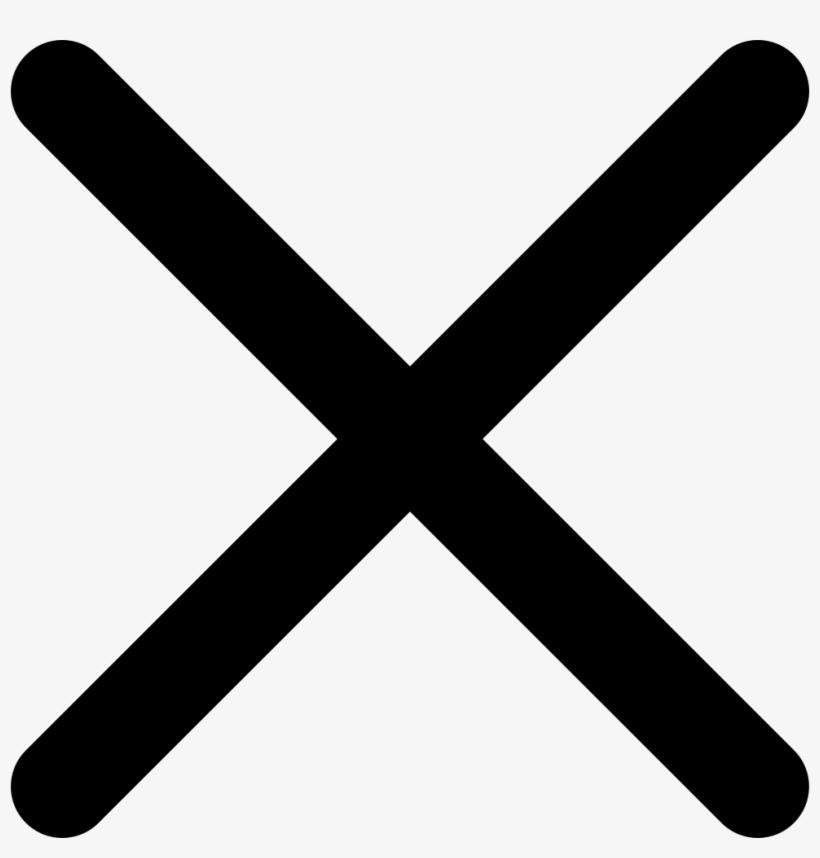 Cross Comments - Black Cross Png, transparent png #33428