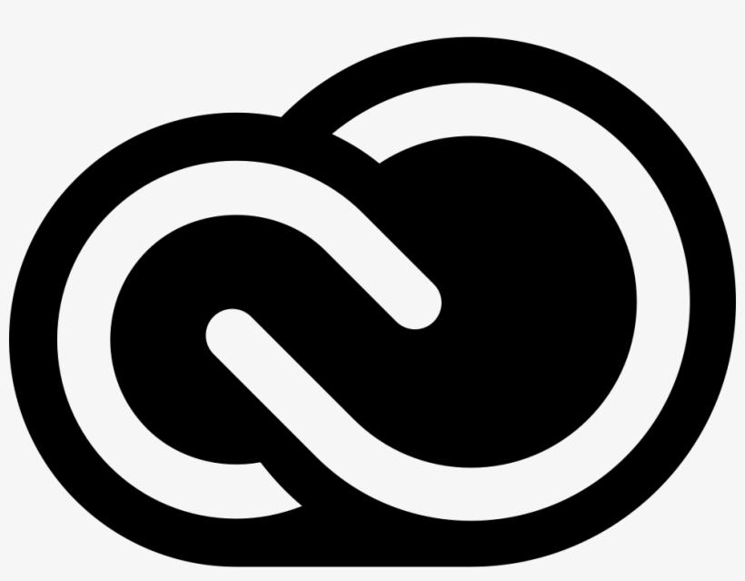 Creative Cloud Png Icon Logo Black - Adobe Creative Suite Logo, transparent png #33429