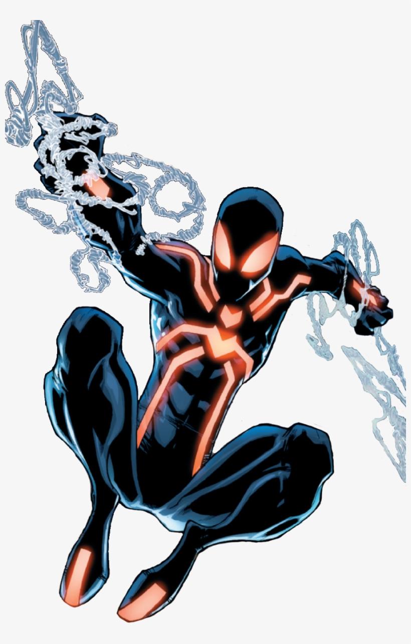 Pin By Pascal Nounours On Art - Imagenes De Spider Man Neon, transparent png #33497