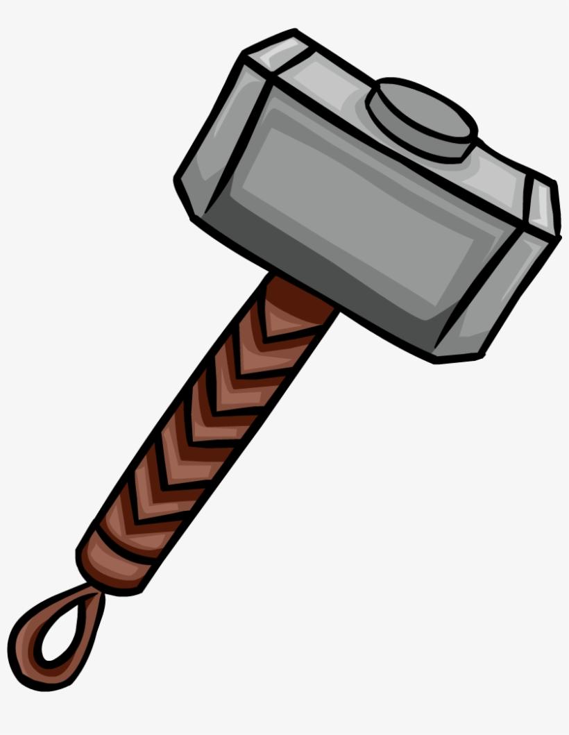 Mjolnir Martelo Do Thor Desenho Free Transparent Png Download