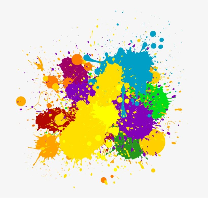 Splash Png - Color Splash Clip Art, transparent png #34166