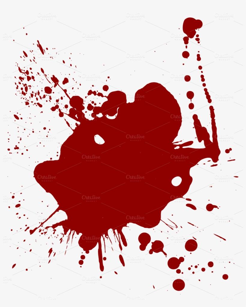 Realistic Dripping Blood Png - Cartoon Blood Splatter ...