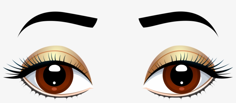 Clip Free Library Brown Eyes With Png Clip Art Quiet - Eyes Clipart Png, transparent png #34870