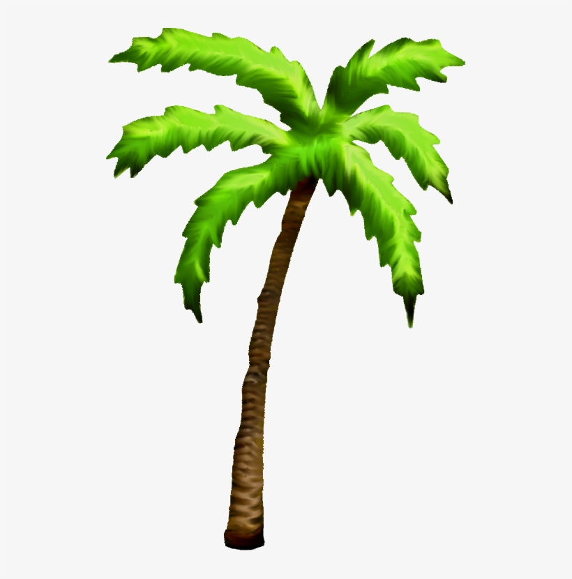 Palm Tree Png - Palm Tree Art Png, transparent png #35052