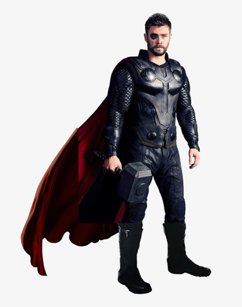 Thor Infinity Png - Thor Suit In Infinity War - Free