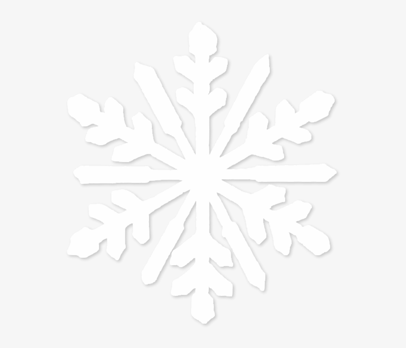 28 Collection Of White Snowflake Clipart Png - White Snowflake Png File, transparent png #35601