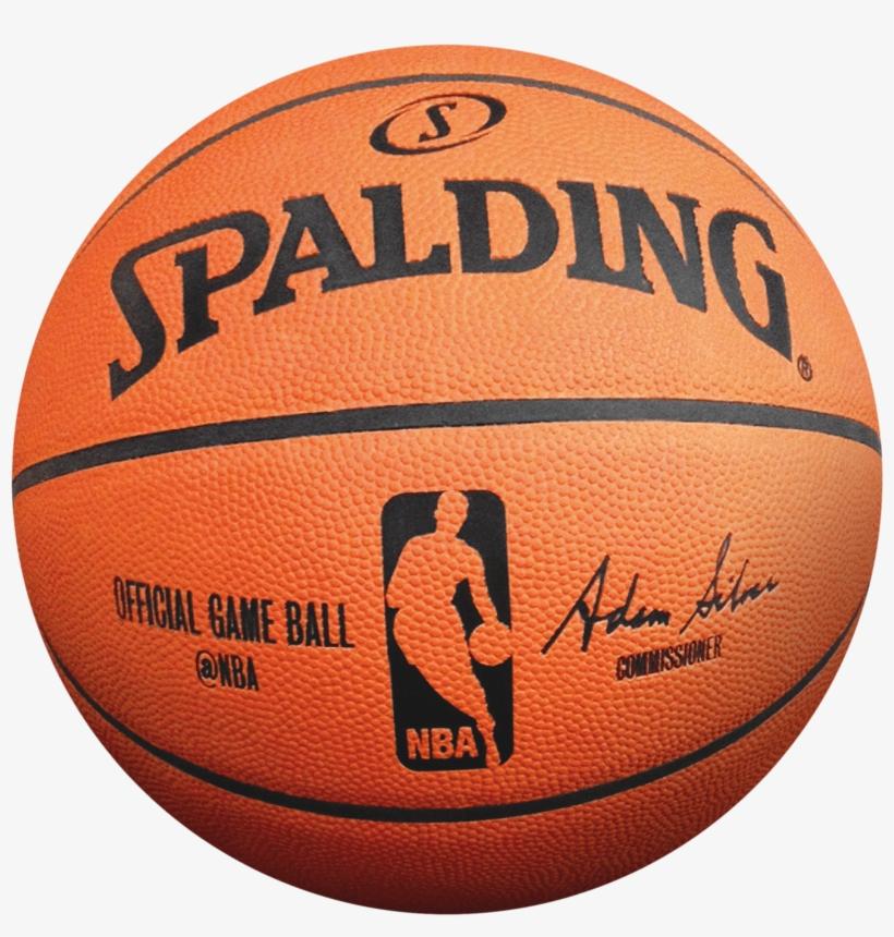 Spalding Basketball - Spalding Official Nba Basketball, transparent png #35914