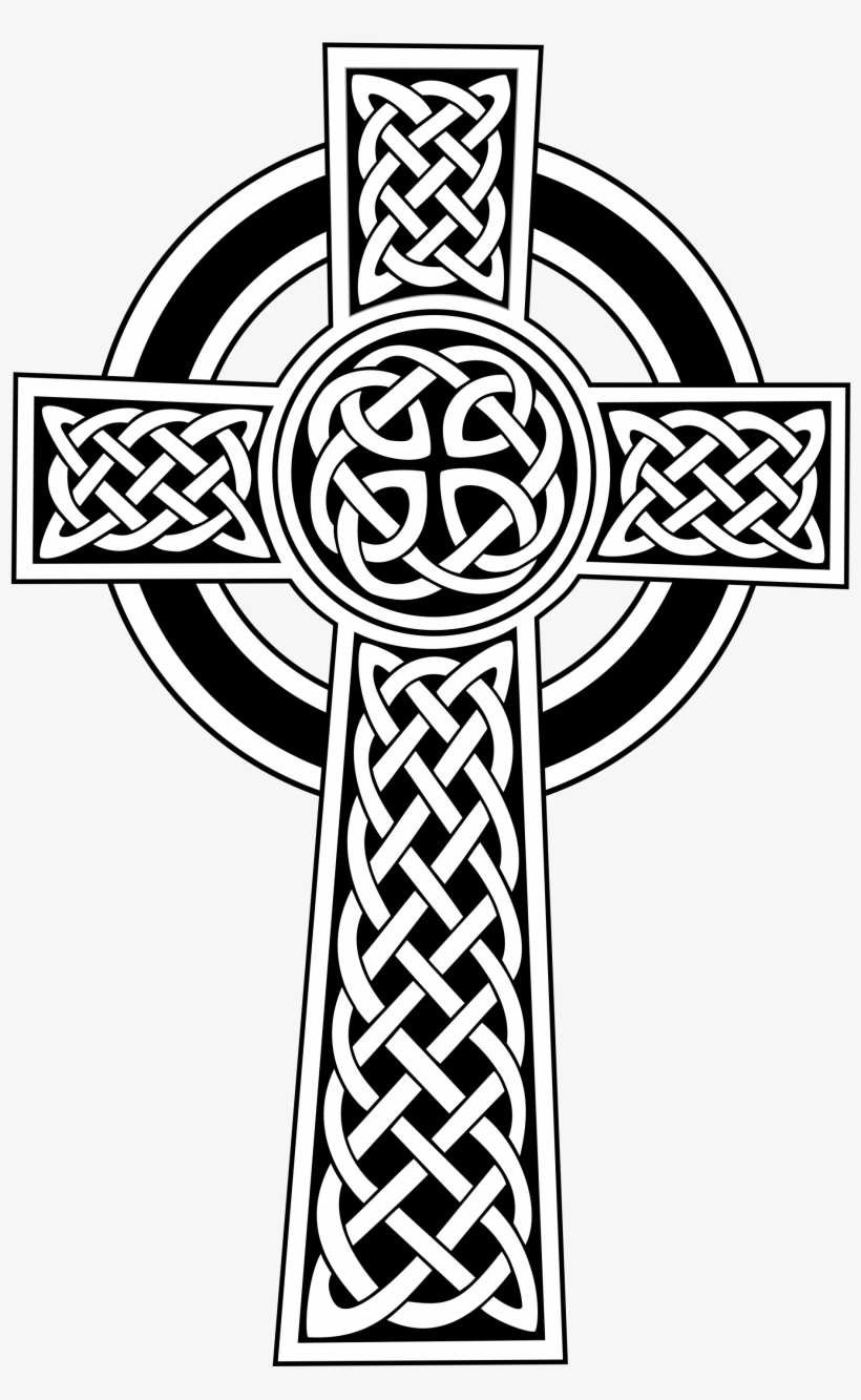 Svg Free Download Celtic Cross By Gdj - Celtic Cross, transparent png #35985