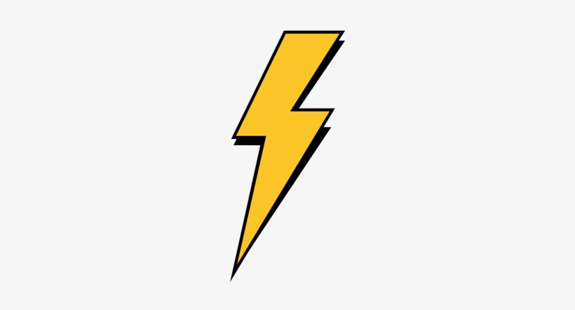 Lightning Bolt Png, transparent png #36618