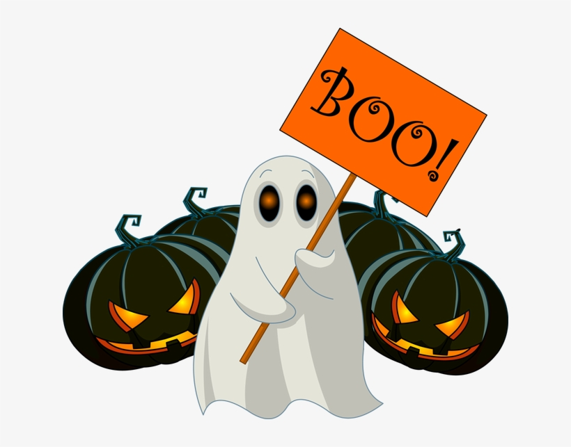 Clipart Transparent Stock Collection Of Boo High Quality - Boo Halloween Png, transparent png #37010