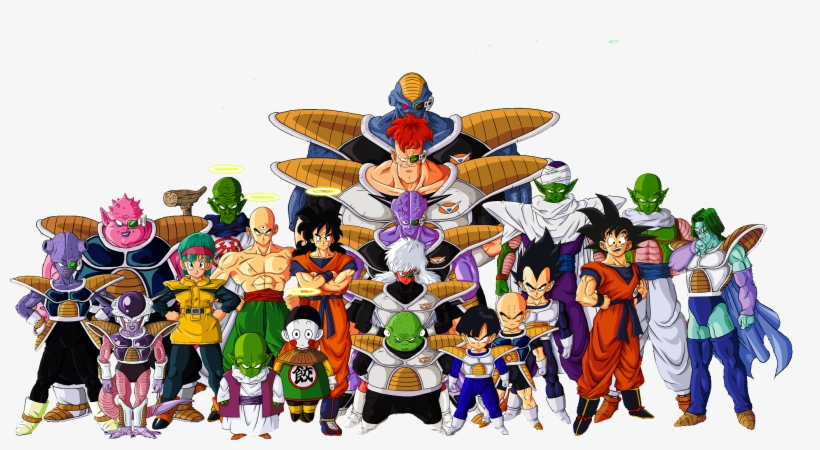 Dragon Ball Z Characters Png File - Dragon Ball Z Png, transparent png #37011