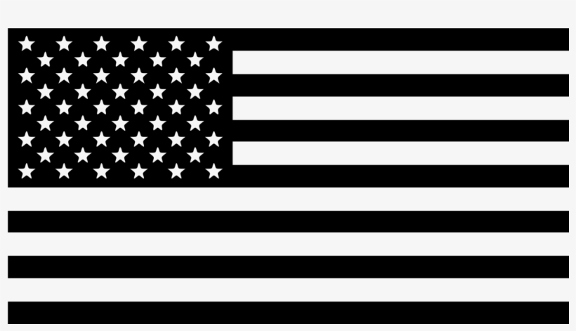 05b42d203df American Flag Black Vector - Free Transparent PNG Download - PNGkey