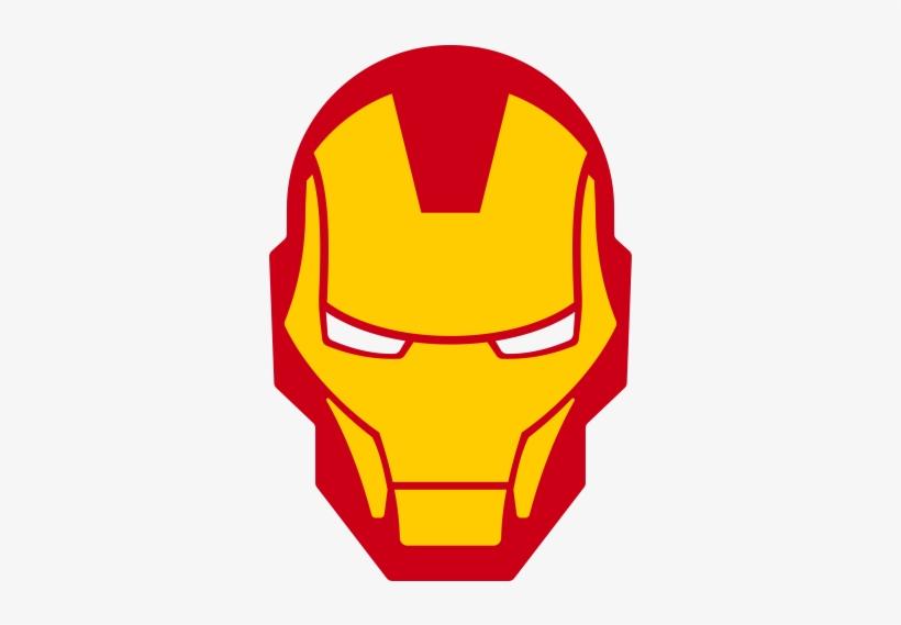 Iron Man Logo - Iron Man Head Png, transparent png #37485