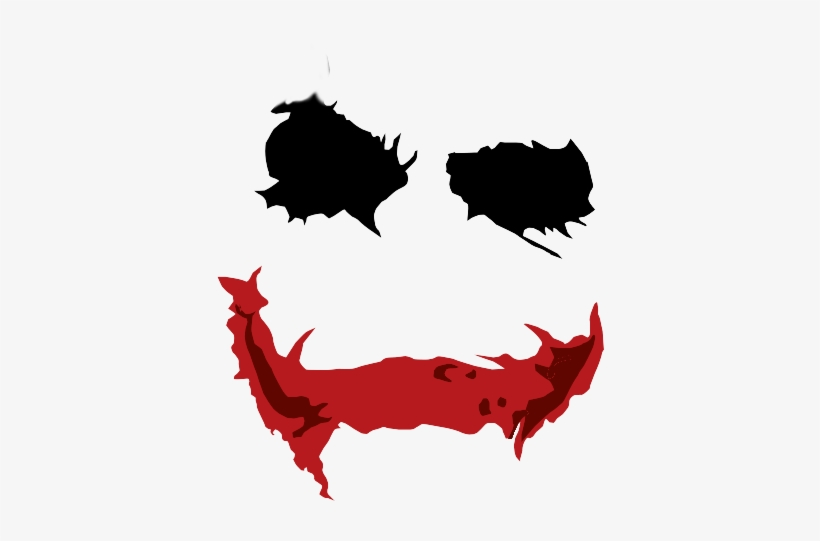 Joker Face Png Clip Freeuse Library - Joker Makeup Png, transparent png #37511