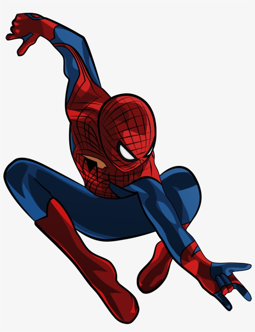 Movie Amazing Spider Man Clipart - Spiderman Into The Spider Verse Png, transparent png #37547