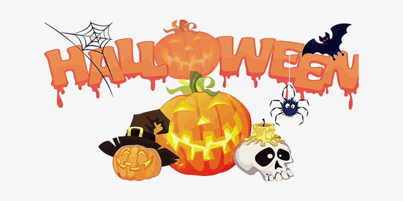 Halloween Trick Or Treat Background Png - Transparent Background Halloween Clip Art, transparent png #38044