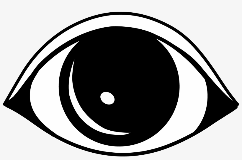 Png Transparent Stock Eyes Cartoon Clip Art Image Library - Eye Clip Art Black And White, transparent png #38086