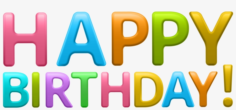 Happy Birthday Png Images Free Download Library - Happy