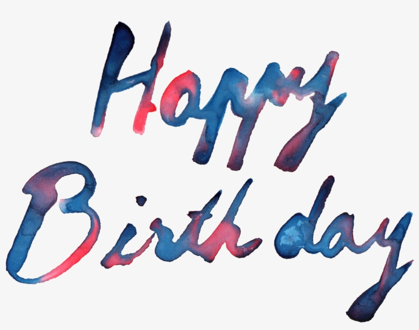 Free Download - Pn Happy Birthday Text Hd, transparent png #38111