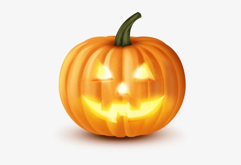 Halloween Pumpkin Png - Scary Halloween Pumpkin Png, transparent png #38669