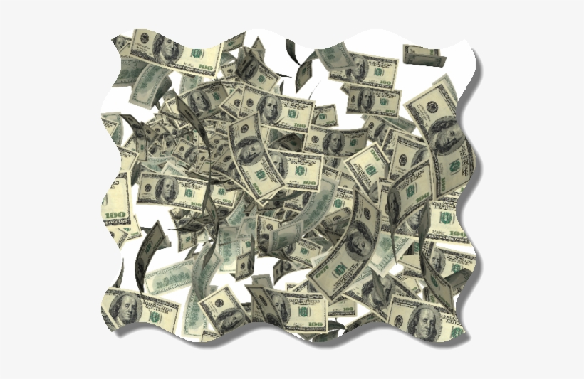 Raining Money Transparent - Guy Making It Rain Money, transparent png #38696